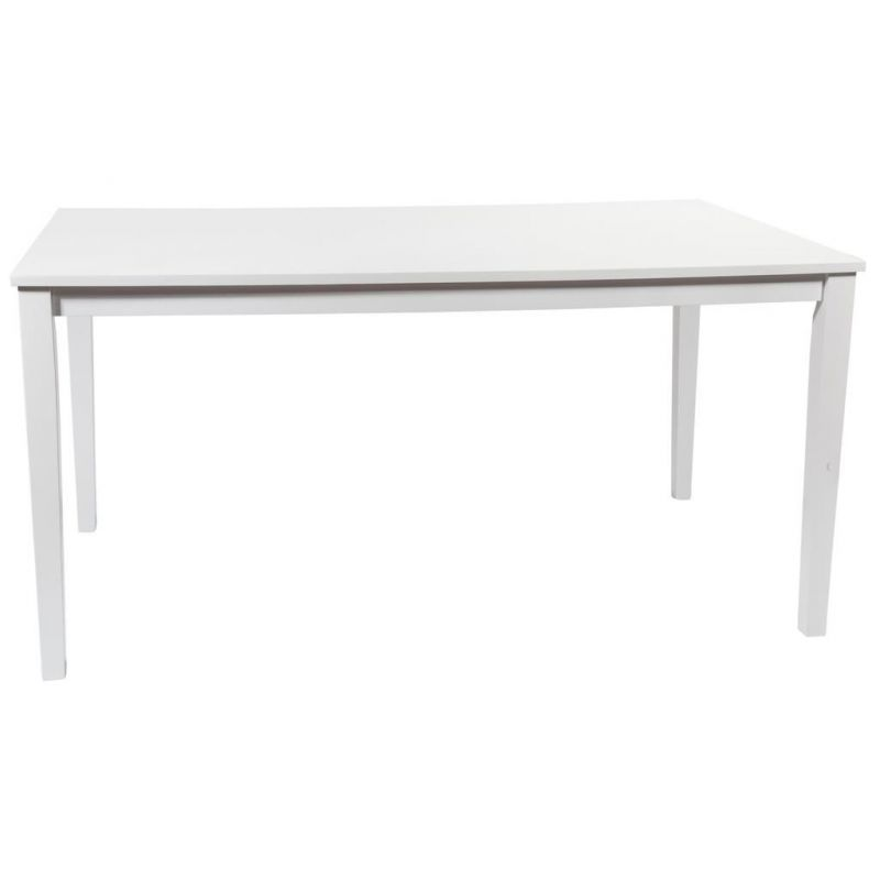 Mesa madera color blanco